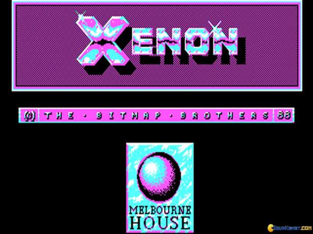 Xenon - title cover