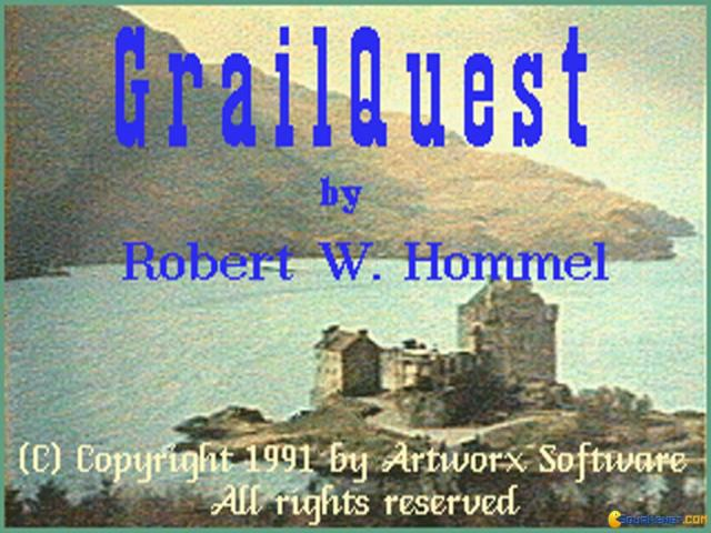 Grail Quest - title cover