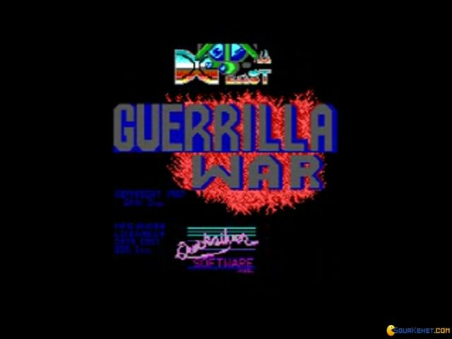 Guerrilla War - title cover