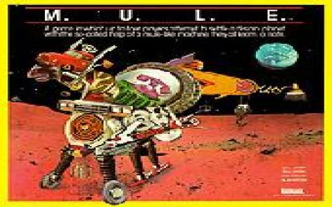 M.U.L.E. - title cover