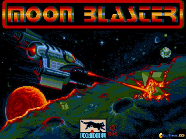 Moon Blaster - title cover