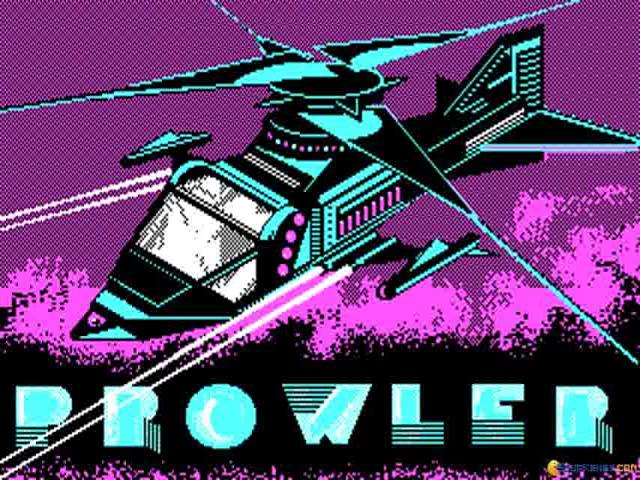 Prowler - title cover