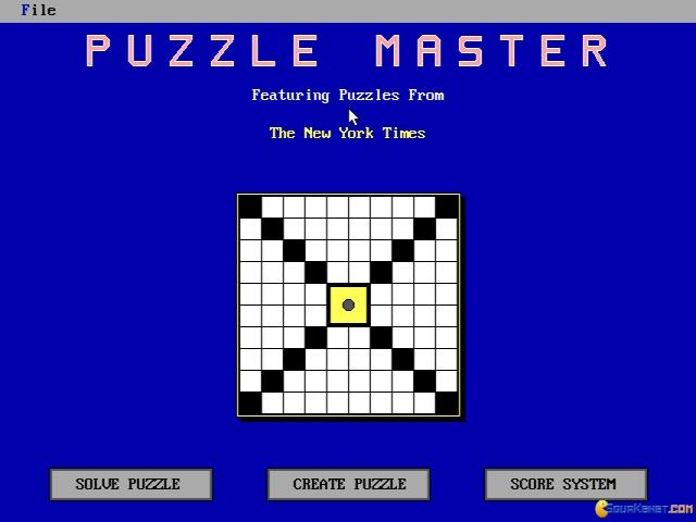 Puzzle Master - title cover