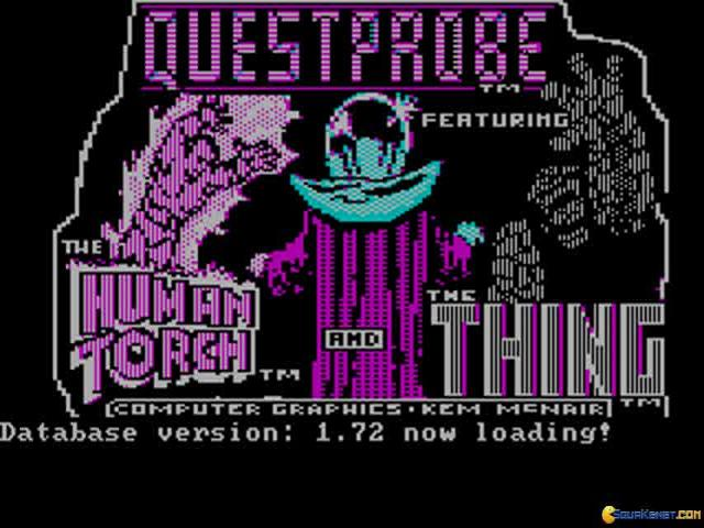 Questprobe featuring The Fantastic Four - title cover