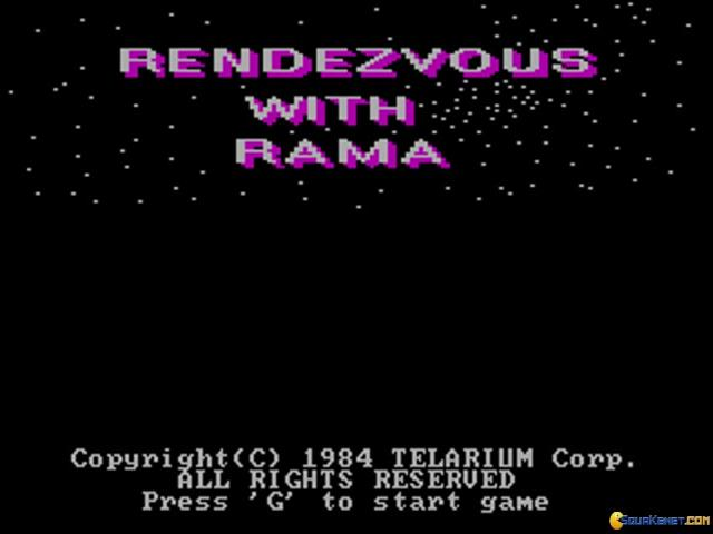 Rendezvous with Rama - game cover