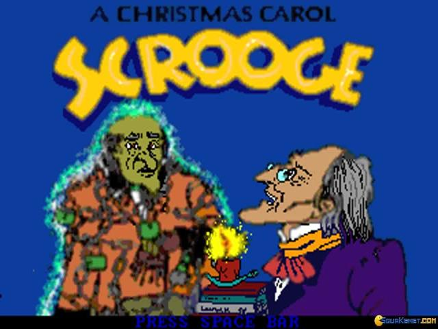 Scrooge - title cover