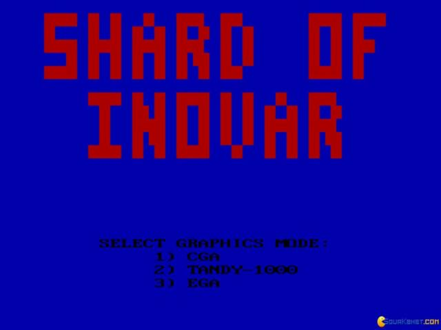 Shard of Inovar - title cover