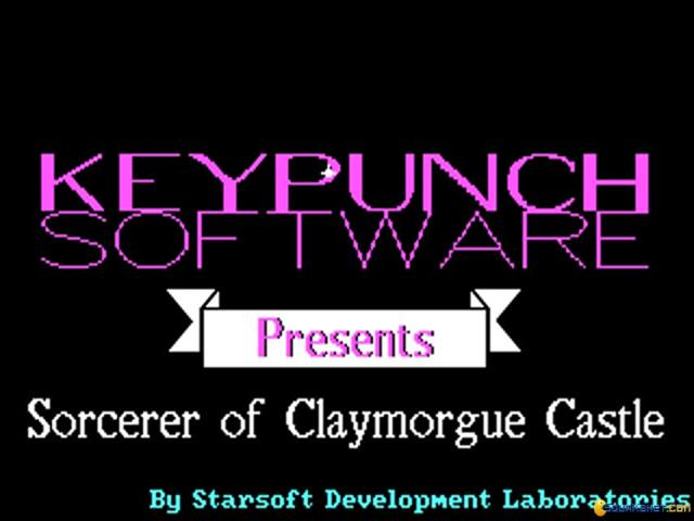 Sorcerer of Claymorgue Castle - title cover