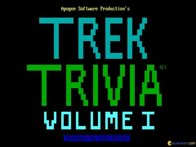 Star Trek: The Trivia Game - title cover
