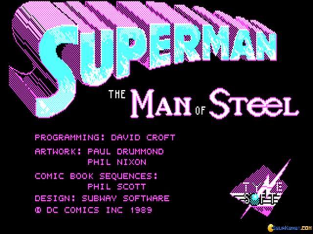 Superman - title cover