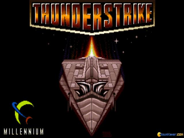 Thunder Strike - title cover