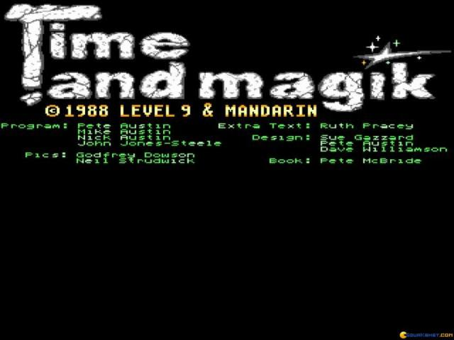 Time and Magik Trilogy, The - title cover