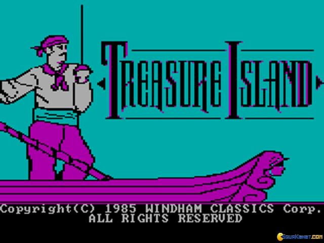 Treasure Island - title cover