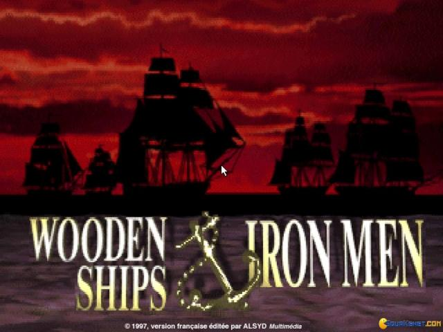 Wooden Ships & Iron Men - title cover