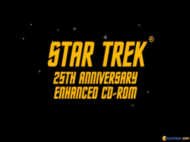 Star Trek: 25th Anniversary - game cover