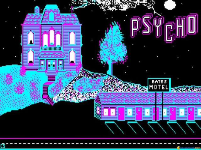 Psycho - game cover