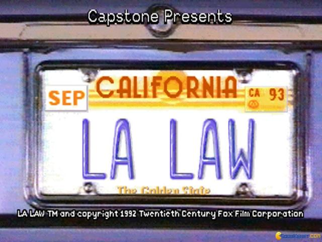 L.A. Law - game cover