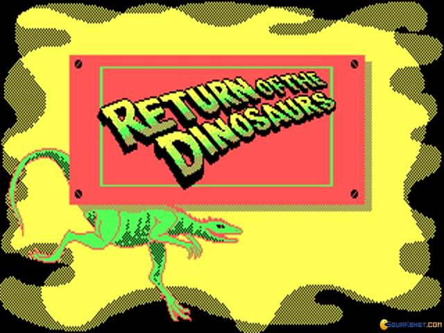 Return of The Dinosaur - title cover