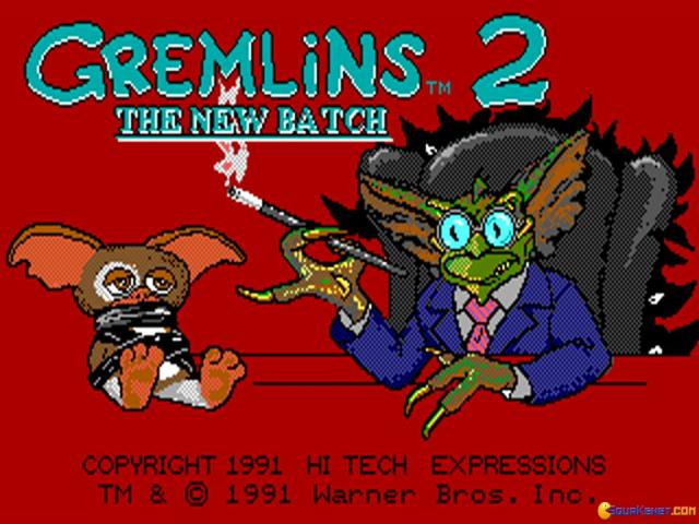 Gremlins 2: The New Batch - title cover