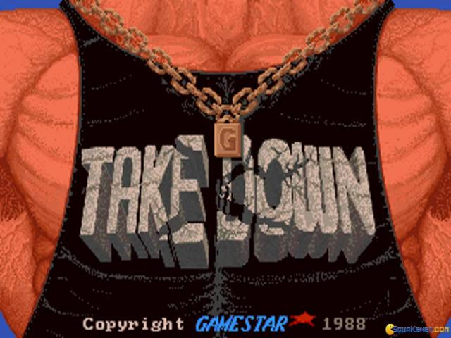 Take Down Wrestling - title cover