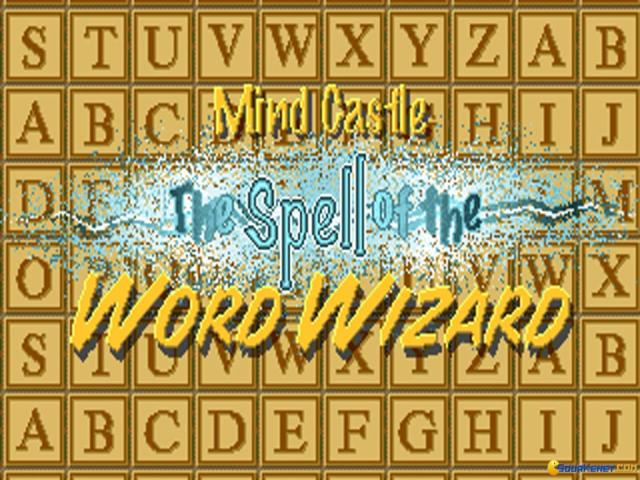 Mind Castle: Spell of The Word Wizard - title cover