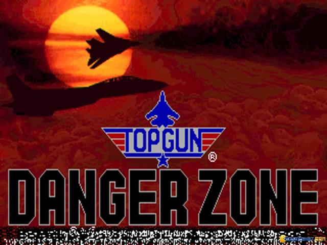 Top Gun Danger Zone - title cover
