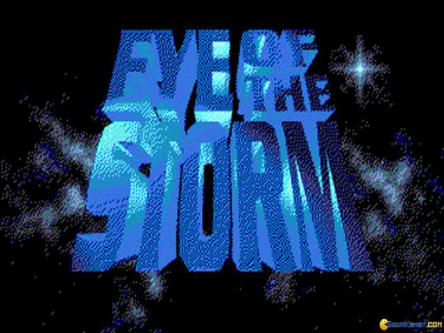 Eye of The Storm - title cover