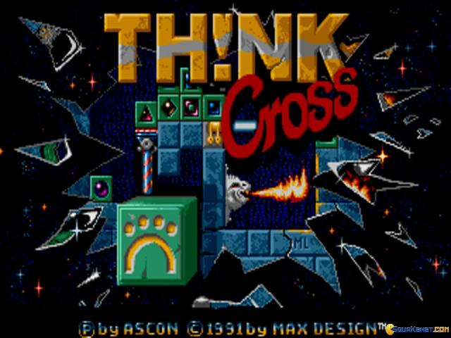 Think Cross - game cover