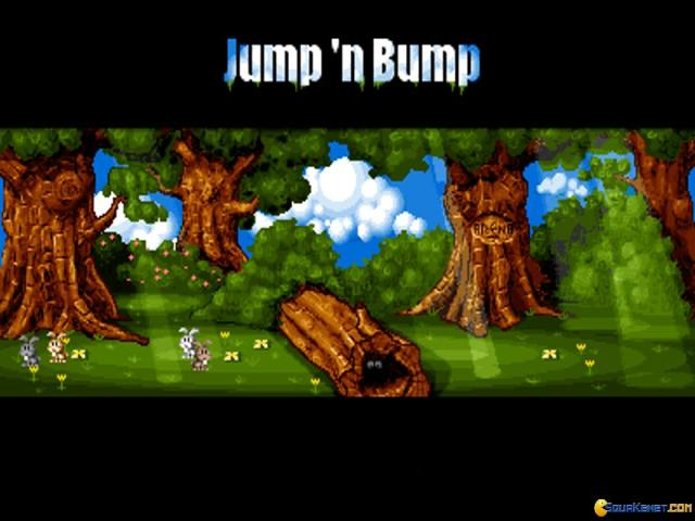 Jump 'n Bump - game cover
