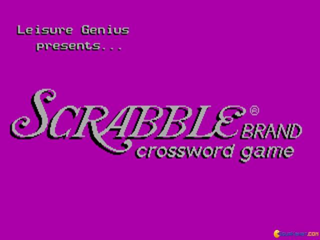 Scrabble - title cover