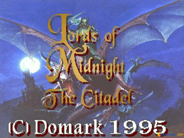 Lords of Midnight 3: The Citadel - title cover