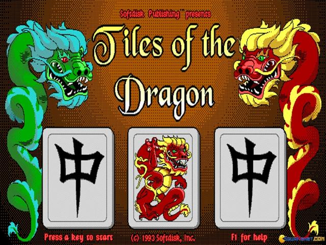 Tiles of The Dragon - title cover
