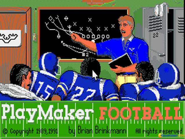 Playmaker Football - title cover