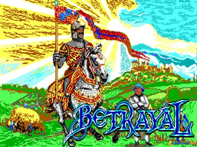 Betrayal - title cover
