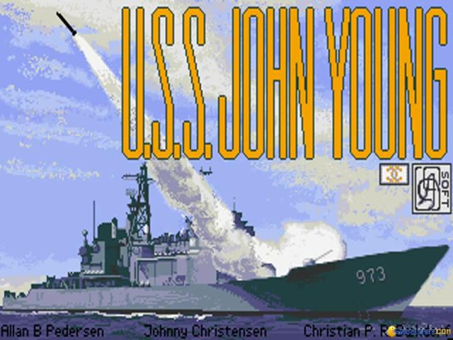 USS John Young - title cover