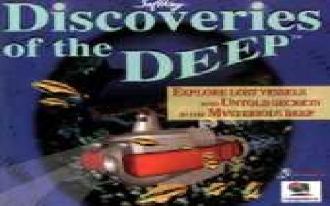 Discoveries of The Deep - title cover