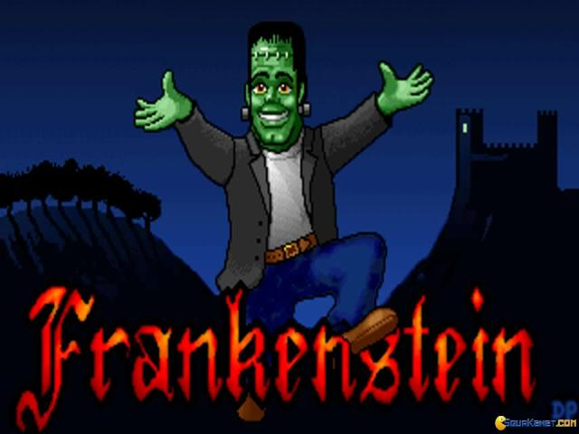 Frankenstein - title cover