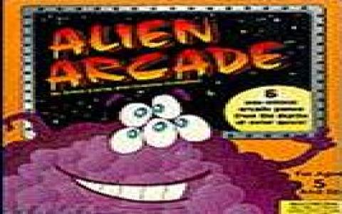 Alien Arcade - title cover