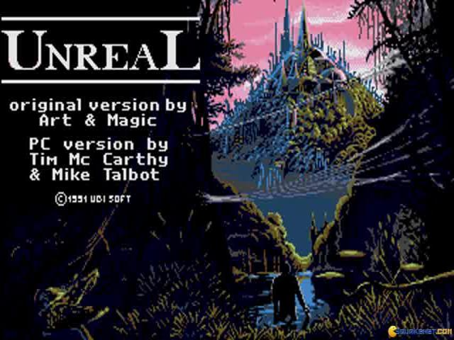 Unreal World - game cover
