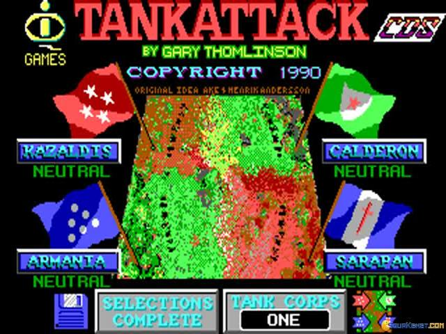 Tank Attack - title cover