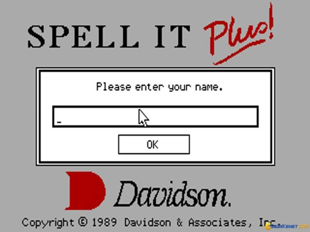 Spell It Plus! - title cover