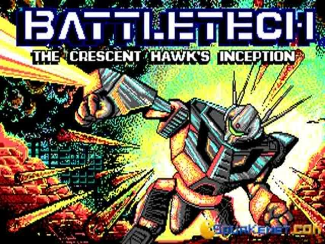 BattleTech - The Crescent Hawks Inception - game cover