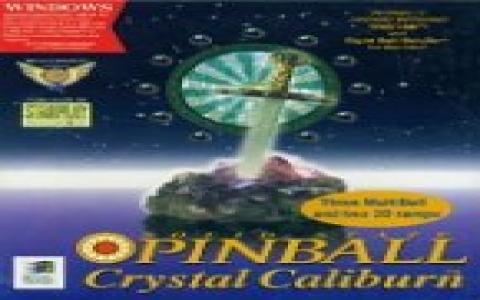 Crystal Caliburn - title cover