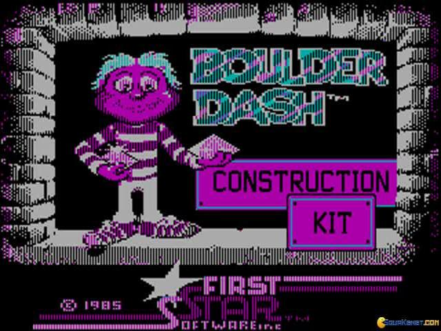 Boulder Dash Construction Kit - title cover