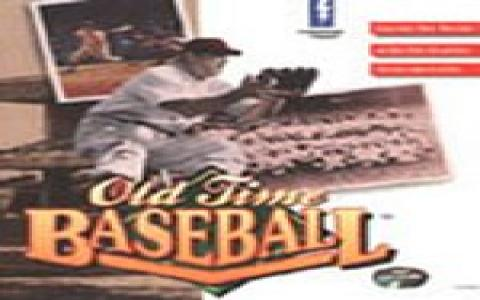 Oldtime Baseball - game cover