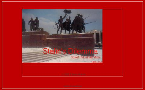 Stalin's Dilemma - game cover