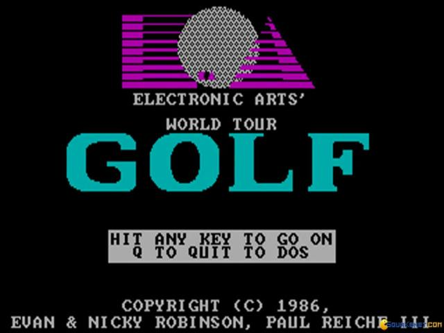 World Tour Golf - title cover