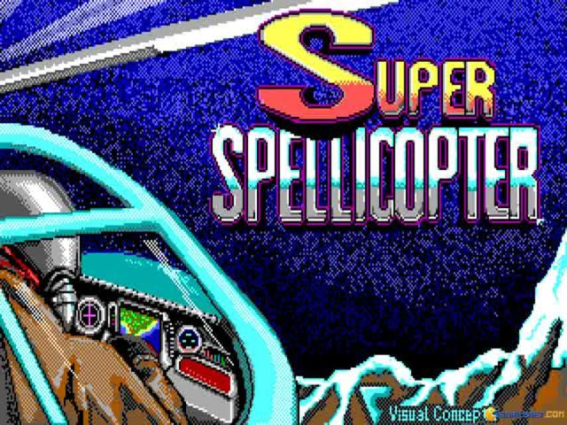 Super Spellicopter - title cover