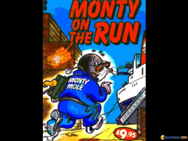 Monty on The Run - title cover