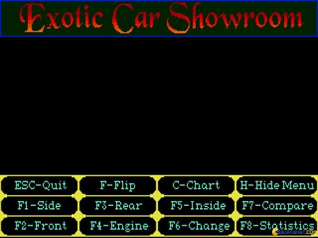 Exotic Car Showroom - title cover